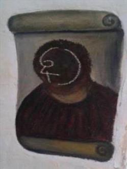 ecce homo seis cuatro cara retrato