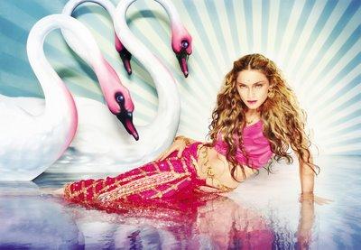 madonna cisnes mythical swans