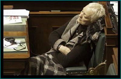 parlamento europeo eurodiputados descansando