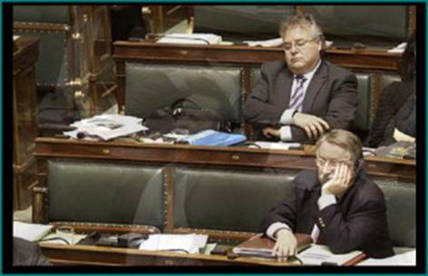 parlamento europeo eurodiputados durmiendo