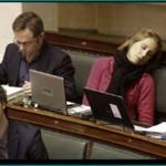 Oferta de trabajo: 15000 euros mensuales por dormir en el Parlamento Europeo