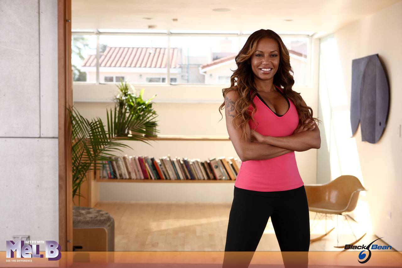 Get fit with mel b juego adelgazar fitness