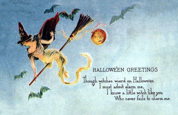 Ilustraciones antiguas Halloween 01