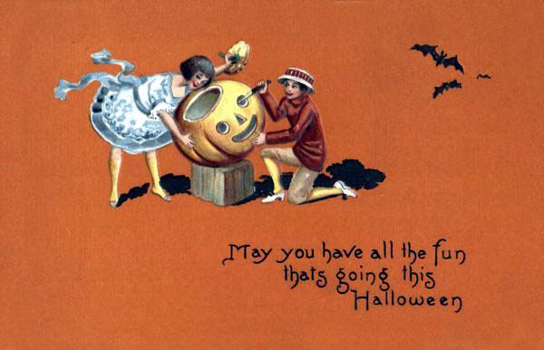 Ilustraciones antiguas Halloween 02