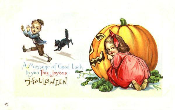 Ilustraciones antiguas Halloween 03
