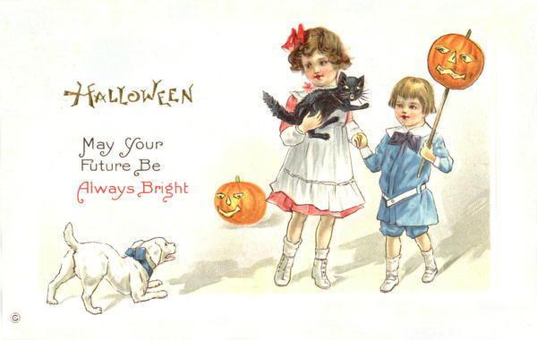 Ilustraciones antiguas Halloween 04