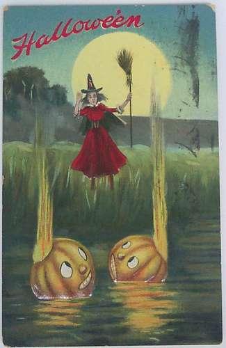Ilustraciones antiguas Halloween 06