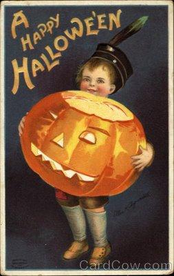 Ilustraciones antiguas Halloween 09