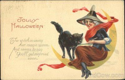 Ilustraciones antiguas Halloween 11