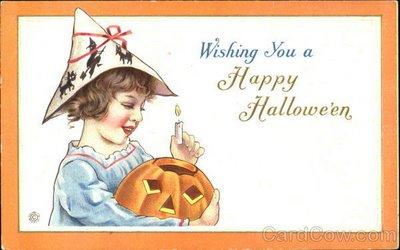 Ilustraciones antiguas Halloween 12
