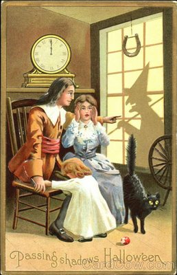 Ilustraciones antiguas Halloween 13