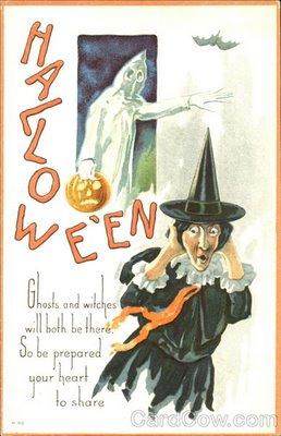 Ilustraciones antiguas Halloween 14