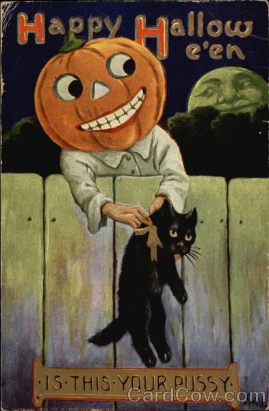 Ilustraciones antiguas Halloween 16