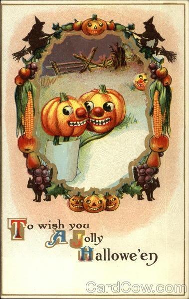 Ilustraciones antiguas Halloween 20