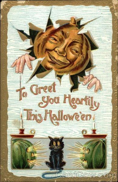 Ilustraciones antiguas Halloween 21