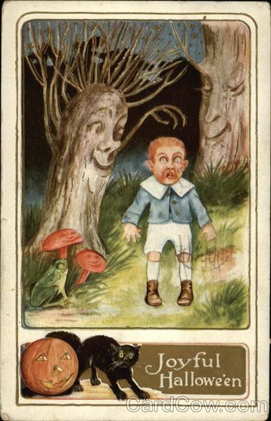 Ilustraciones antiguas Halloween 22