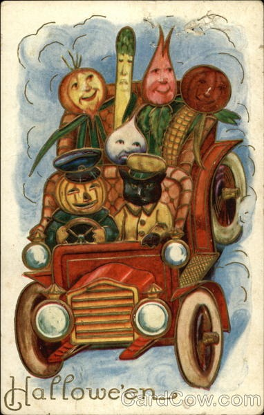 Ilustraciones antiguas Halloween 25