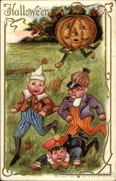 Ilustraciones antiguas Halloween 26