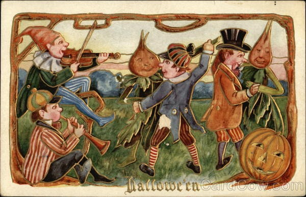 Ilustraciones antiguas Halloween 27