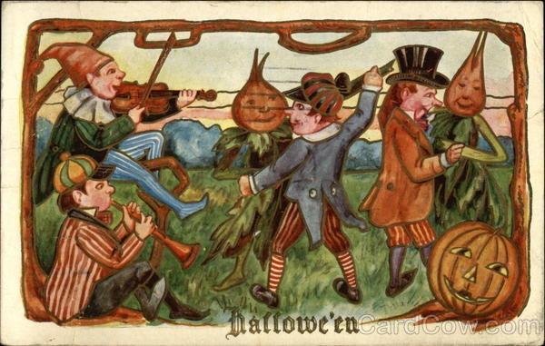 Ilustraciones antiguas Halloween 28