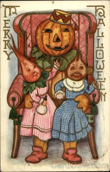 Ilustraciones antiguas Halloween 29