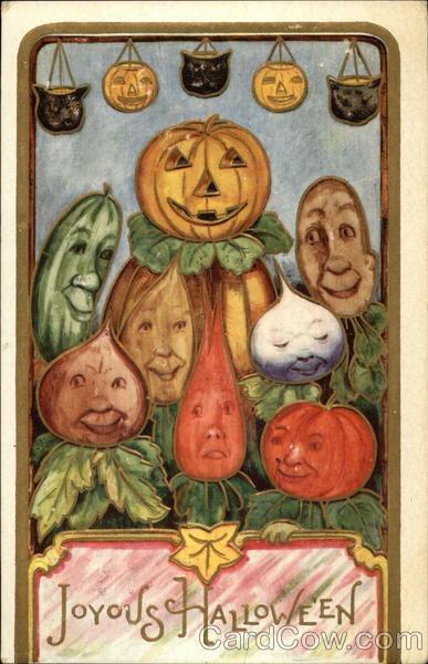 Ilustraciones antiguas Halloween 30