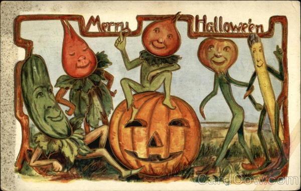 Ilustraciones antiguas Halloween 31