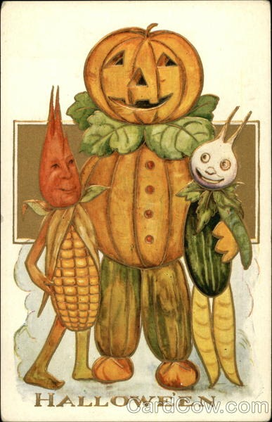 Ilustraciones antiguas Halloween 32
