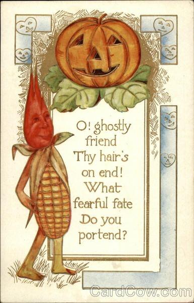 Ilustraciones antiguas Halloween 33