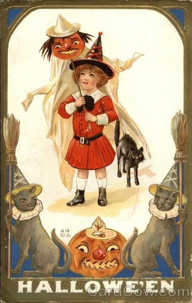 Ilustraciones antiguas Halloween 34