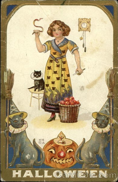 Ilustraciones antiguas Halloween 35