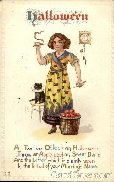 Ilustraciones antiguas Halloween 36