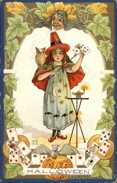 Ilustraciones antiguas Halloween 37