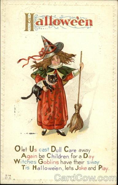 Ilustraciones antiguas Halloween 38