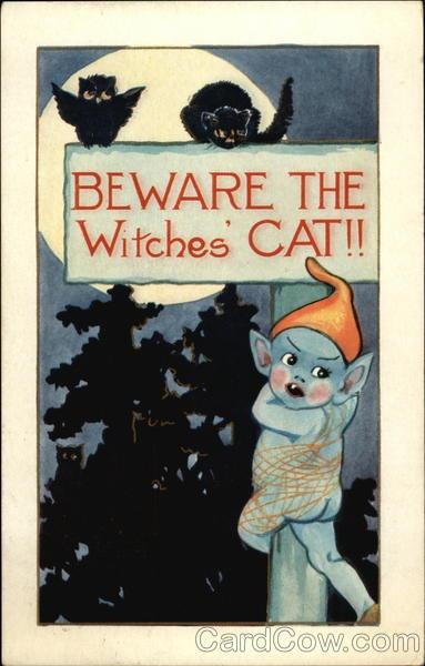 Ilustraciones antiguas Halloween 39