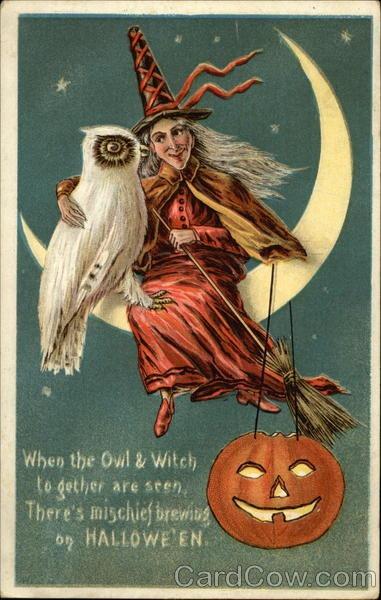 Ilustraciones antiguas Halloween 41