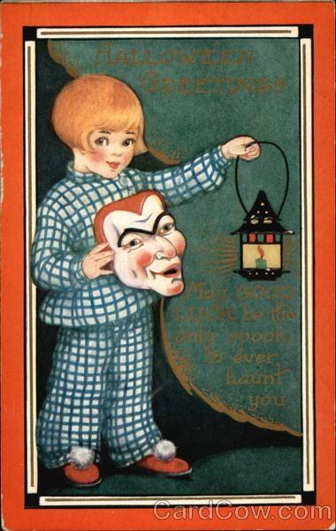 Ilustraciones antiguas Halloween 42