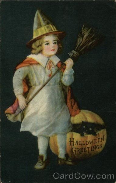 Ilustraciones antiguas Halloween 43