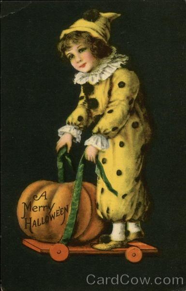 Ilustraciones antiguas Halloween 44