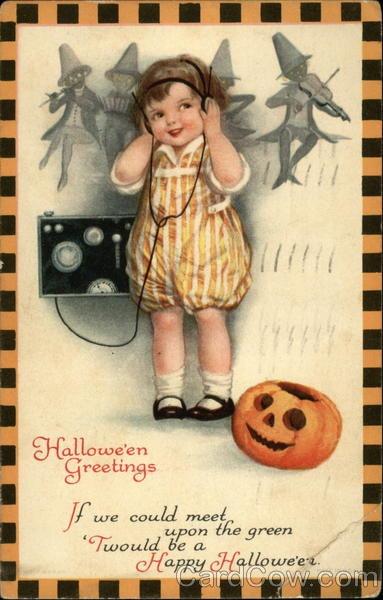 Ilustraciones antiguas Halloween 45