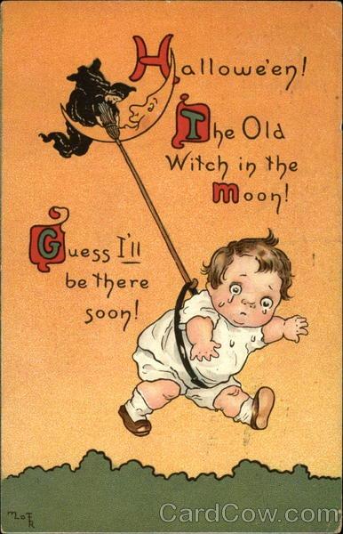 Ilustraciones antiguas Halloween 47
