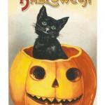 Ilustraciones antiguas de Halloween
