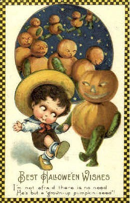 Ilustraciones antiguas Halloween 53