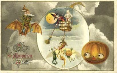 Ilustraciones antiguas Halloween 54