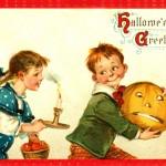 Ilustraciones retro de Halloween