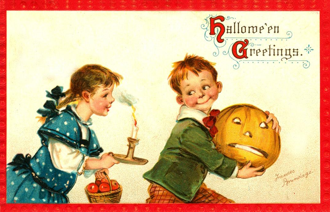 Ilustraciones retro Halloween 07