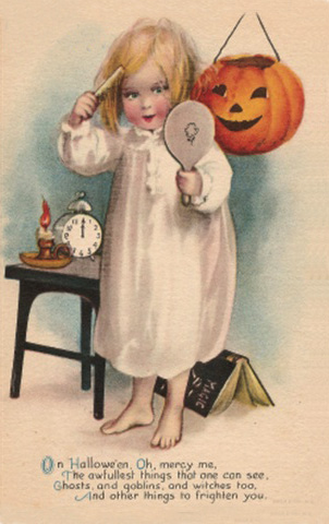 Ilustraciones retro Halloween 10