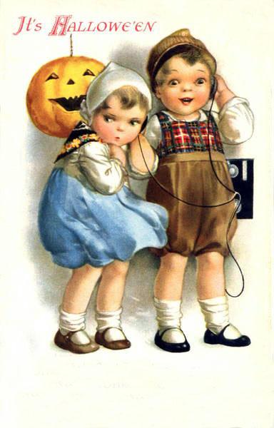 Ilustraciones retro Halloween 12