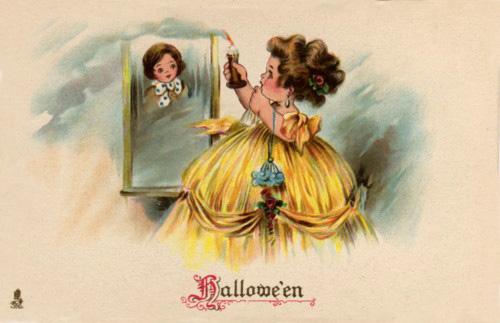 Ilustraciones retro Halloween 13