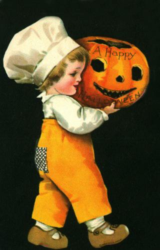 Ilustraciones retro Halloween 14